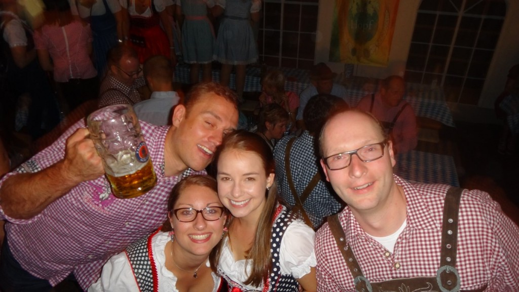 Konrad, Svenja, me, & Stephan
