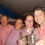 Lars, Konrad, Stephan & Morgan
