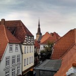Tour of Osna - view from the top of the Heger Tor