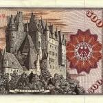 Side Note - Burg Eltz was featured on the 500 Deutsche Mark.
