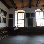Tour of Osna - Inside the old town hall, in the room where the Peace of Westphalia was negotiated.