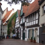Tour of Osna - One of my favorite streets in old town due to the half timbered houses there still there.