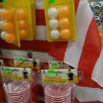 Enschede - a store had a whole display for beer pong (with an American flag hanging behind it) - lol