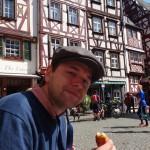 Bernkastel-Kues - breakfast in the square
