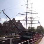 Papenburg - an early ship produced by the Meyer Werft company
