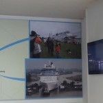 Meyer Werft - More pictures of a cruise ship going through the draw-bridges.