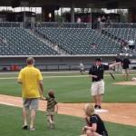 Celo running the bases