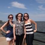 Girls trip to Charleston to see Kelly's wedding dress!