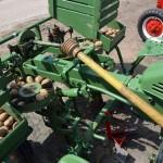 Ankum festival - a potato harvester