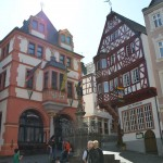 Bernkastel-Kues - city hall on the left