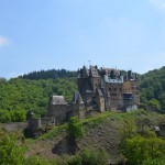 Burg Eltz - from the side