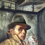 Felix Nussbaum - self portrait