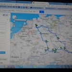 The general route we will take for our Big Driving Trip!