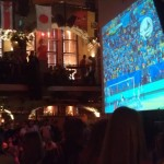 WM Final - at Arlando - the view from our seats at the bar