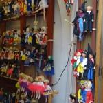 walking around Stare Mesto - puppets