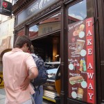 walking around Stare Mesto - ice cream time!