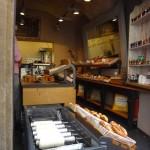 walking around Stare Mesto - another popular snack- pretzles