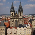 the view from the tower - Church of Our Lady before Týn