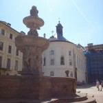 Prague Castle - courtyard