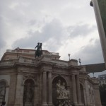 Vienna - walking around near the museum