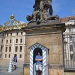 Mathias guarding the castle